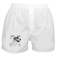 Harlequin Great Dane Boxer Shorts