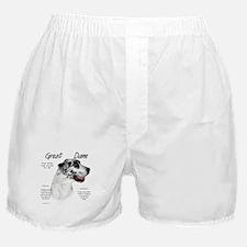 Harlequin Great Dane Boxer Shorts