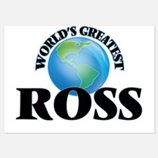 World's Greatest Ross Invitations
