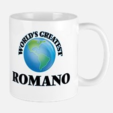 World's Greatest Romano Mugs