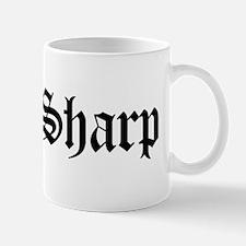 Mrs. Sharp Mug