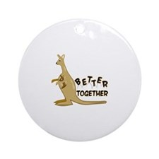 Better Together Ornament (Round)