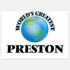 World's Greatest Preston Invitations