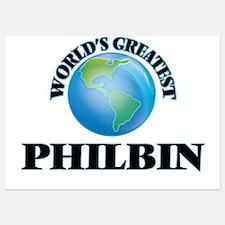 World's Greatest Philbin Invitations
