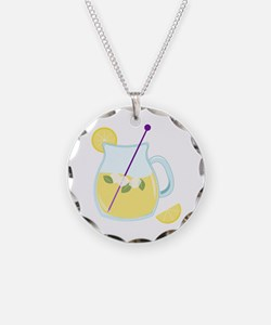 Pitcher of Lemonade Necklace