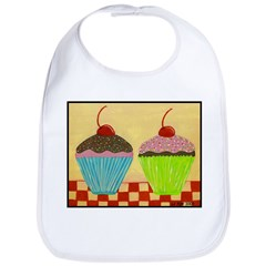 Just The Two of Us: CUPCAKES Bib
