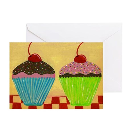Just The Two of Us: CUPCAKES Greeting Cards (Packa
