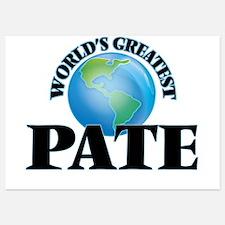 World's Greatest Pate Invitations