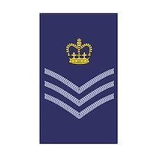 RAF Flight Sergeant<BR> Sticker 1