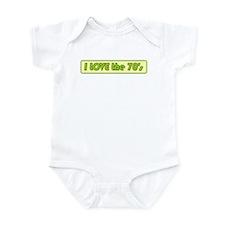 I Love the 70s Infant Bodysuit