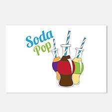 Soda Pop Postcards (Package of 8)