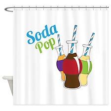 Soda Pop Shower Curtain