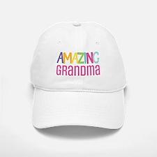 Amazing Grandma Baseball Baseball Cap