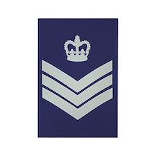 RAF Flight Sergeant<BR> Rectangle Magnet 2
