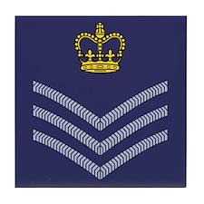 RAF Flight Sergeant<BR> Tile Coaster