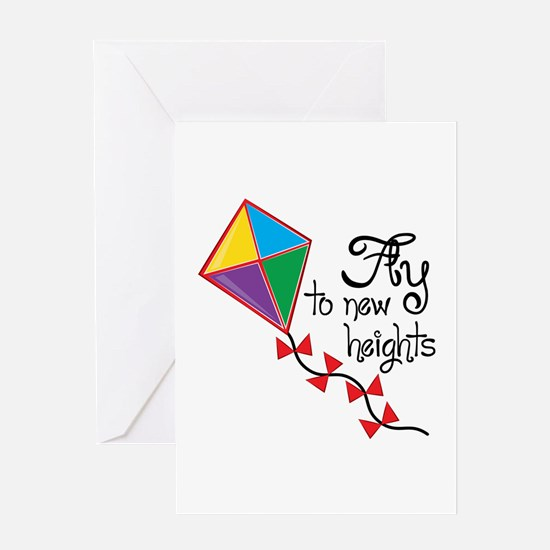 Fly to New Heights Greeting Cards