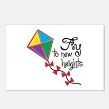 Fly to New Heights Postcards (Package of 8)