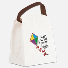 Fly to New Heights Canvas Lunch Bag