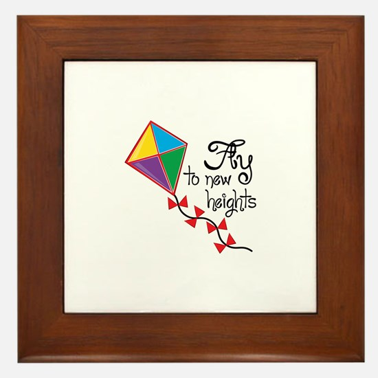 Fly to New Heights Framed Tile