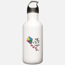 Fly to New Heights Water Bottle