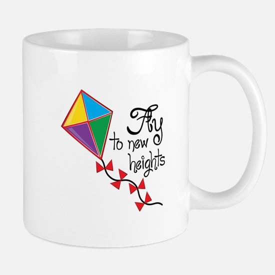 Fly to New Heights Mugs