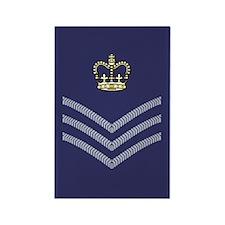 RAF Flight Sergeant<BR> Rectangle Magnet