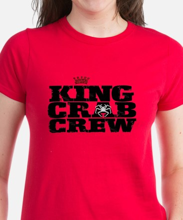 CRAB CREW Women's Dark T-Shirt
