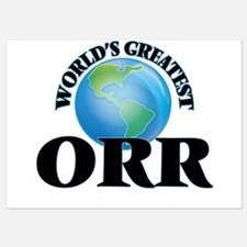 World's Greatest Orr Invitations