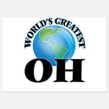 World's Greatest Oh Invitations