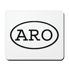 ARO Oval Mousepad