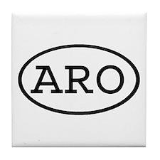 ARO Oval Tile Coaster