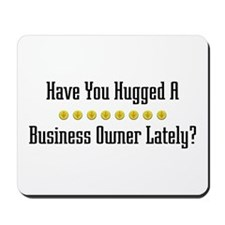 Hugged Business Owner Mousepad