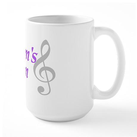 Groom's Mom(clef) Large Mug