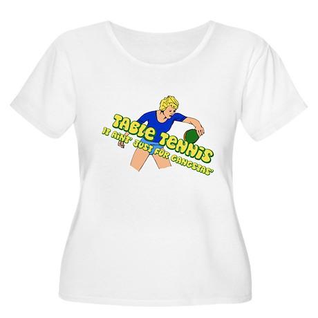 Gangster Ping-Pong Table Tennis Woman Women's Plus