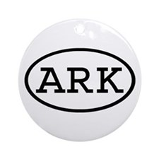ARK Oval Ornament (Round)