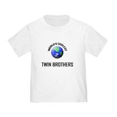 World's Coolest TWIN BROTHERS T