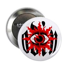 Odin's Eye Button (white)