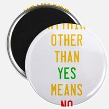 Anything Other Than Yes Means No Magnets