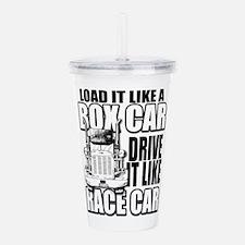 Box Car Truck Driver Acrylic Double-wall Tumbler