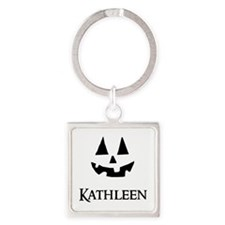 Kathleen Halloween Pumpkin face Keychains