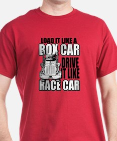 Box Car Truck Driver T-Shirt