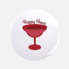 """Happy Hour 3.5"""" Button"""