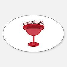 Maragaritaville Cup Decal
