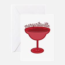 Maragaritaville Cup Greeting Cards