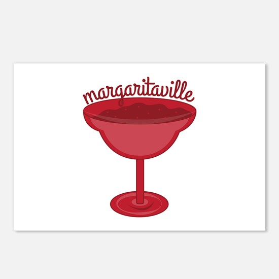 Maragaritaville Cup Postcards (Package of 8)