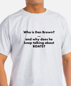 Unique Dan brown T-Shirt
