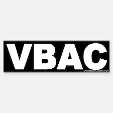 VBAC Bumper Bumper Bumper Sticker