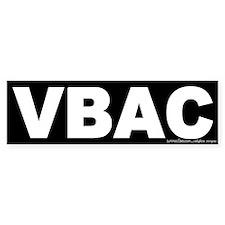 VBAC Bumper Bumper Sticker