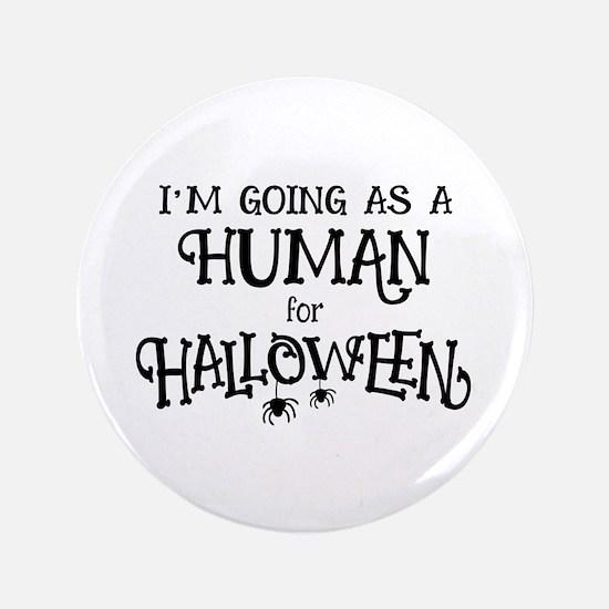"Human Costume 3.5"" Button"