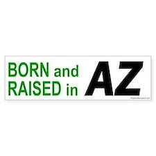 Arizona Born Bumper Bumper Sticker